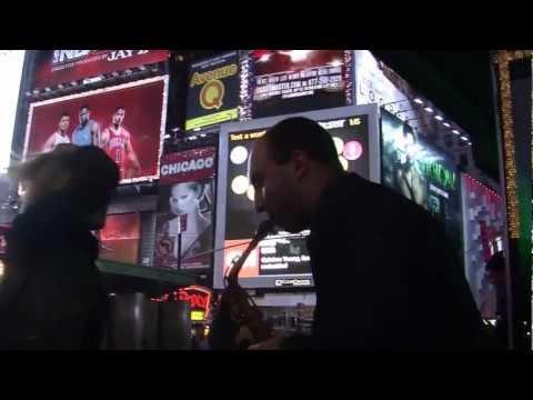 Tony Lombardo near Time Square, New York, Part 1
