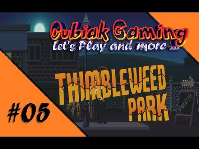 ZWEI TAUBEN, EIN POSTMANN UND DER LANDSTREICHER ★ Let's Play Thimbleweed Park #05