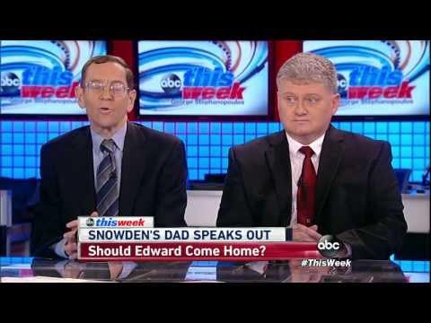 Lon Snowden & Bruce Fein - ABC This Week 08/11/2013