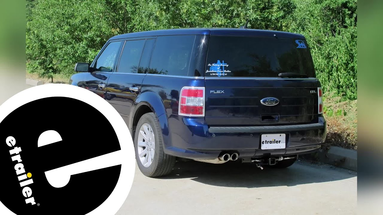 Best 2016 Ford Flex Hitch Options Etrailer Com Youtube