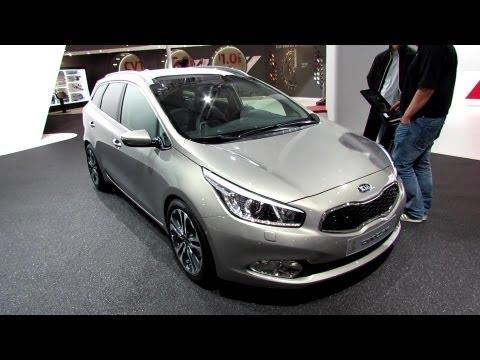 2014 KIA Ceed SW CRDi Diesel Exterior and Interior Walkaround 2013 Frankfurt Motor Show