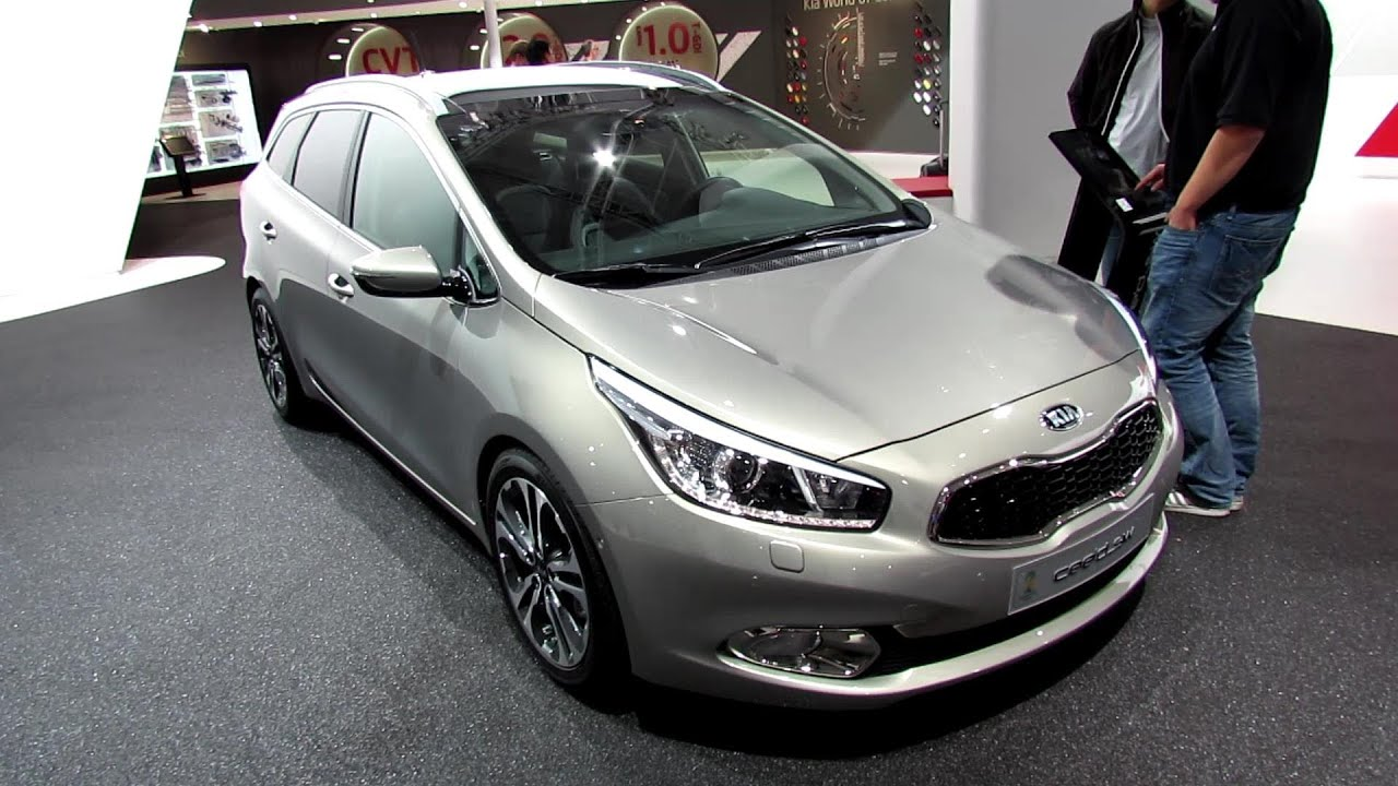 2014 kia ceed sw crdi diesel exterior and interior walkaround 2013 frankfurt motor show. Black Bedroom Furniture Sets. Home Design Ideas