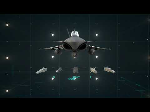 LE BOURGET 2021  MISSILES ON THE RAFALE