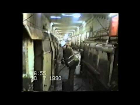 Easington Pit Underground Loco Shed