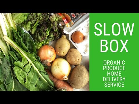 Slowbox Review | Organic Food Delivery Service Seoul, South Korea Video