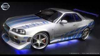 NFS CARBON GAMEPLAY WITH 2 FAST 2 FURIOUS SKYLINE