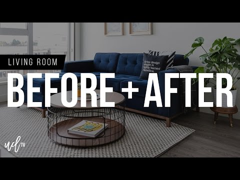 Before and After: Living Room Tour
