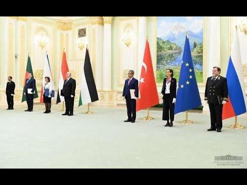 Президент Узбекистана принял вновь назначенных послов