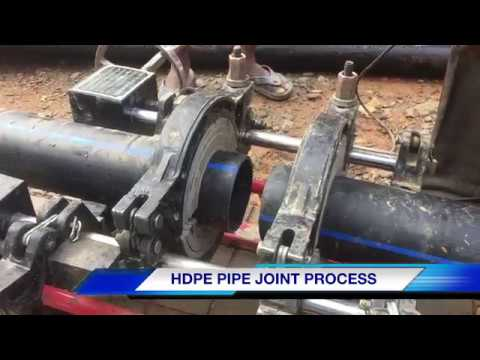 HDPE PIPE JOINT MACHINE || HDPE PIPE JOINT