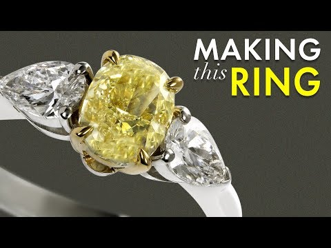 making-a-yellow-diamond-ring