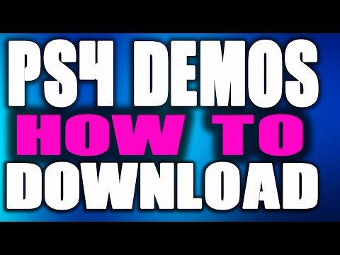 """HOW TO FIND PS4 DEMOS 
