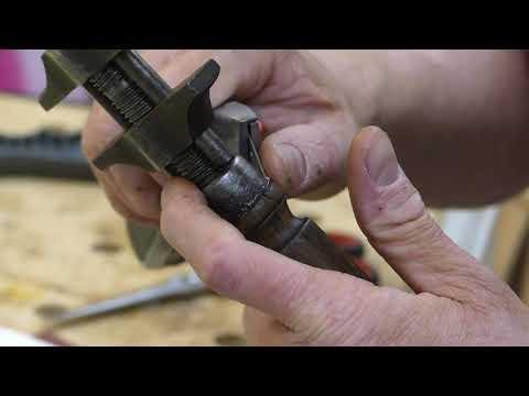 Restauration Französischer Schraubenschlüssel