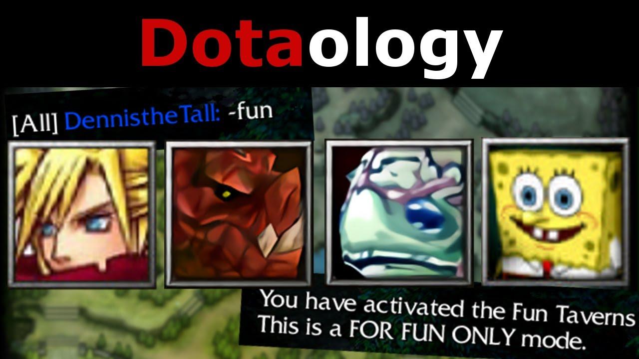Dotaology: FUN Mode Heroes