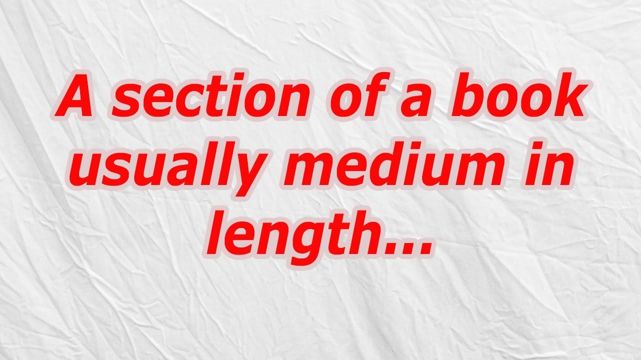 medium of a book