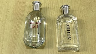 TOMMY HILFIGER EDT for Men and Women-Unboxing