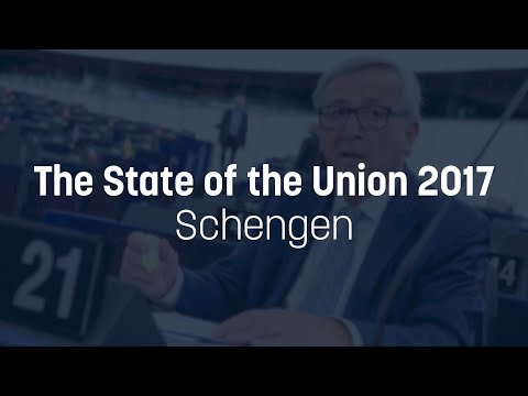 Juncker wants to bring Romania, Bulgaria & Croatia in Schengen - State of the Union 2017