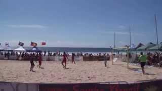 Thailand - Australia, Australia Beach Soccer Cup, North Wollongong Beach, N.S.W., Australia.