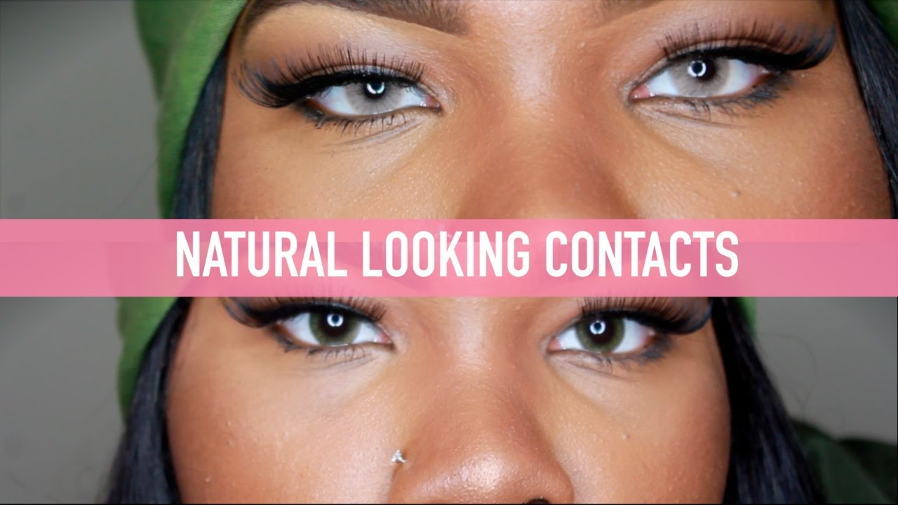 Best Natural Looking Colored Contact Lenses