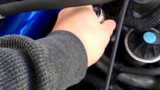 Camshaft/cylinder head cap replacement Honda Civic 1.7