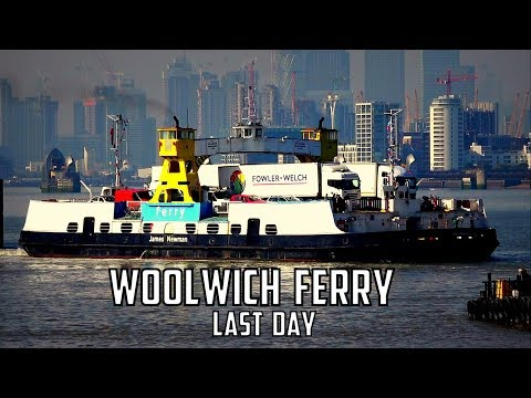 The Last Day For The Woolwich Ferry - 5th October 2018