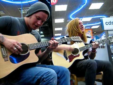 We The Kings  Secret Valentine Acoustic Lubbock Tx