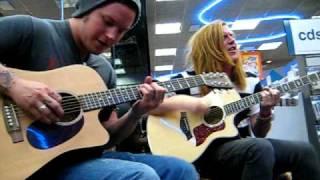 We The Kings - Secret Valentine (Acoustic) Lubbock Tx