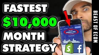The FASTEST Way To Make $10,000 Shopify Dropshipping   [FREE COURSE]