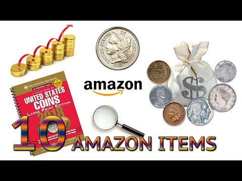 top-10-coin-collecting-gifts-/-items-on-amazon