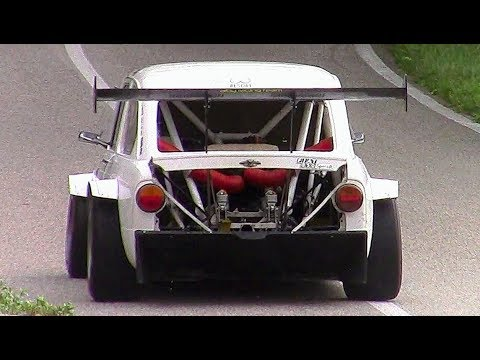 FIAT 850 Special Kawasaki || 11.000RPM ZX-12R Swapped Monster