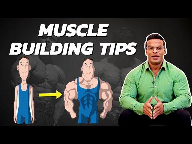 Muscle Building Tips For Beginners   Best Bodybuilding Tips   Yatinder Singh