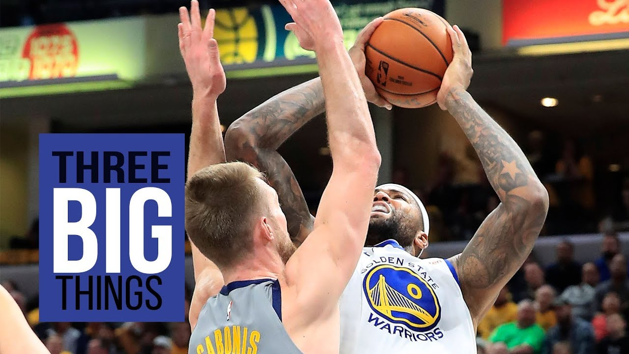 3 BIG THINGS: Warriors' DeMarcus Cousins and Stephen Curry have big games