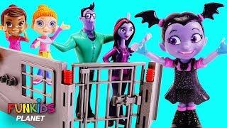 Vampirina Jail Rescue with Paw Patrol & Toy Surprises
