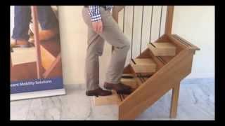 Maak uw nul-tredenwoning met Easysteppers op de trap. Woonaanpassing