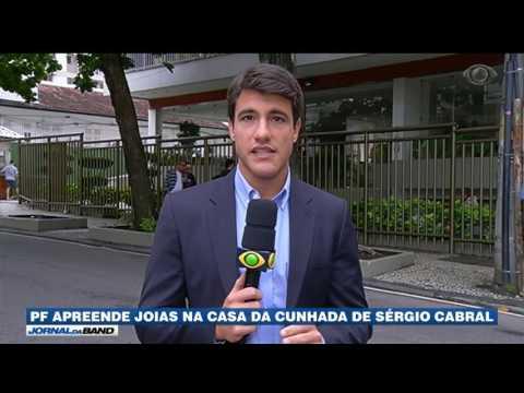 PF apreende joias na casa da cunhada de Sérgio Cabral