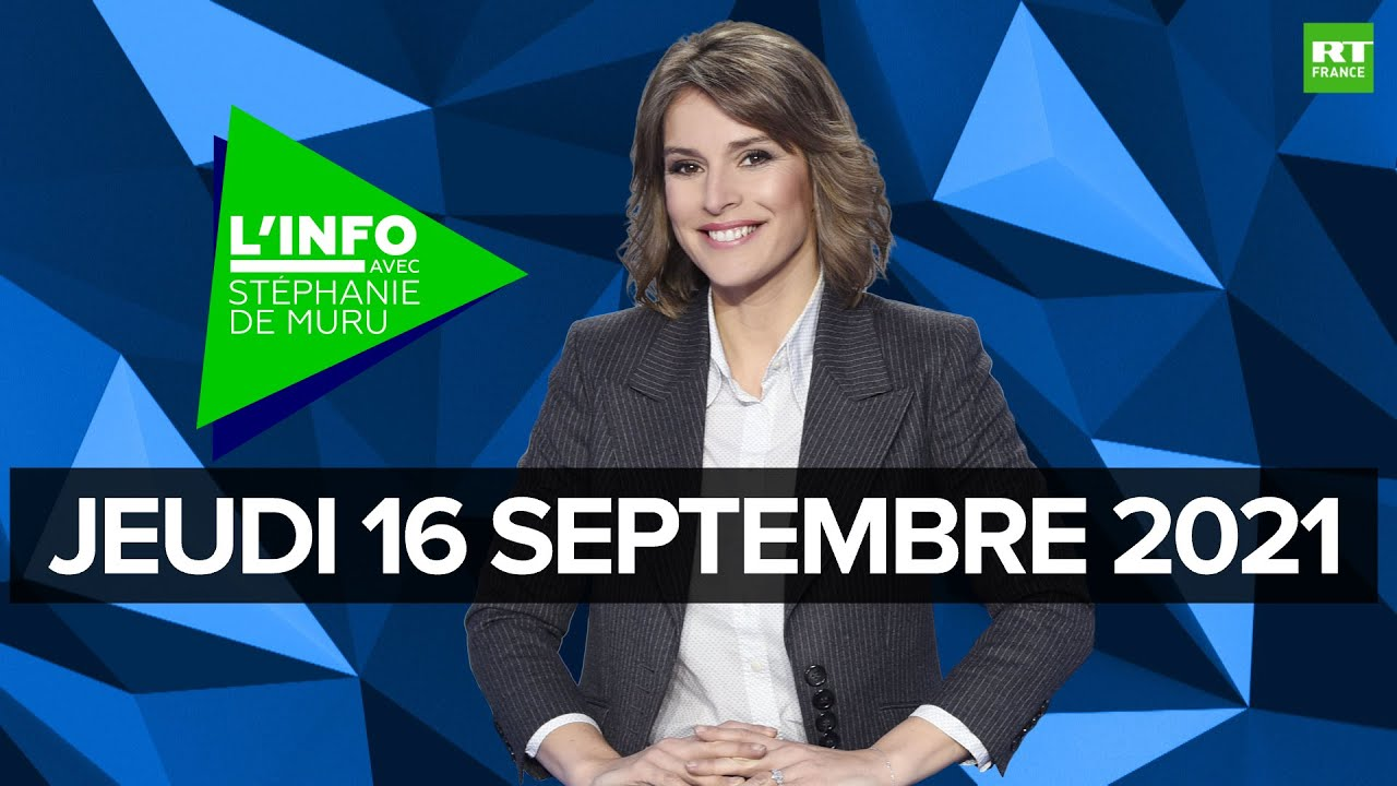 Download L'Info avec Stéphanie De Muru - Jeudi 16 septembre 2021