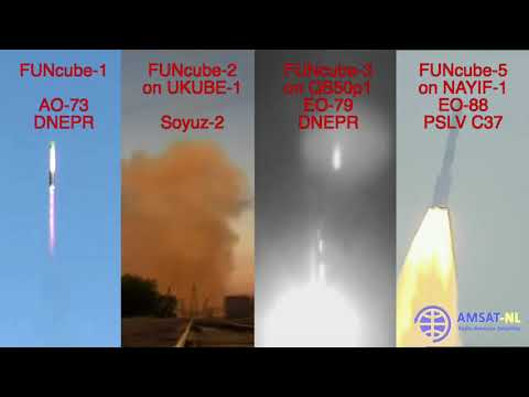 FUNcube family Launch Composite
