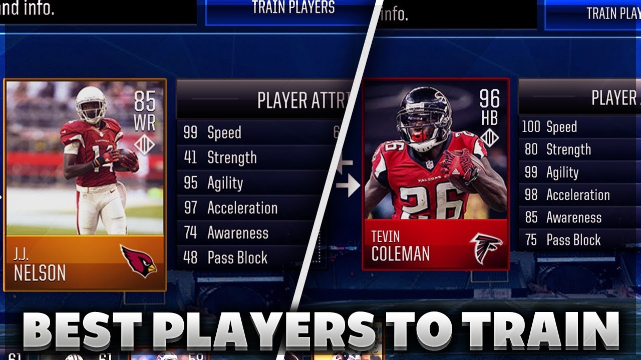 BEST CHEAP PLAYERS TO TRAIN IN MADDEN MOBILE! - YouTube