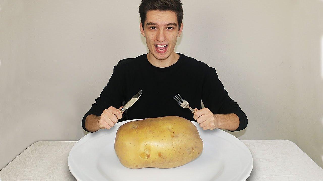 eating a Potato ( Challenge )