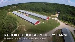 6 Broiler House Poultry Farm - For Sale in Georgia