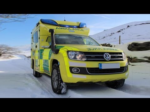 volkswagen amarok ambulance  east midlands uk      youtube