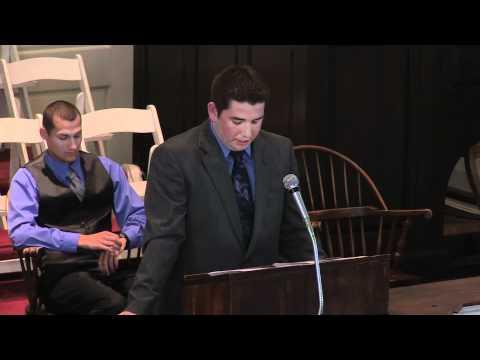 Chapel Talk - Wabash Seniors (April 26, 2012)