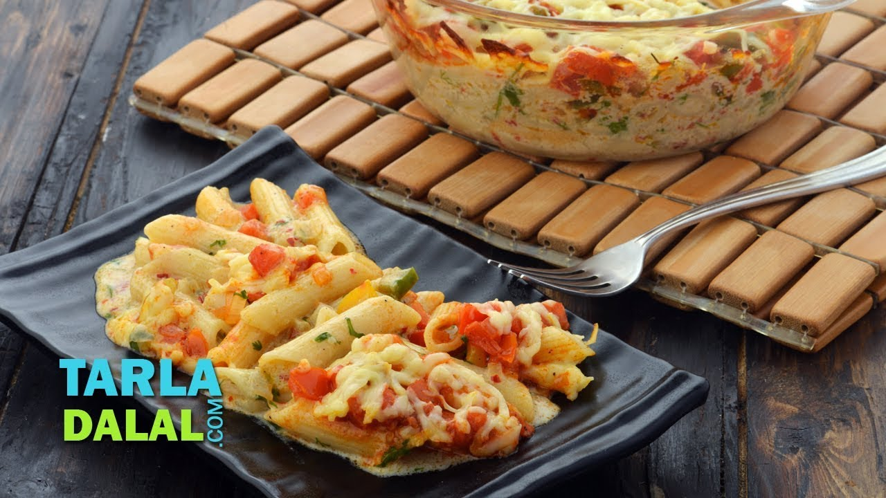 Spicy mexican pasta bake by tarla dalal youtube spicy mexican pasta bake by tarla dalal forumfinder Images