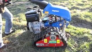 Ciągnik jednoosiowy BCS 630 WS Max na gąsienicach