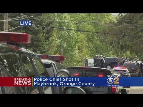 Maybrook Police Chief Shot During Standoff