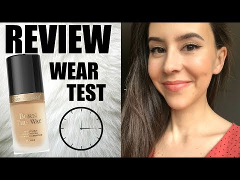 Too Faced Born This Way Foundation Review || Best Selling Foundations At Sephora Series