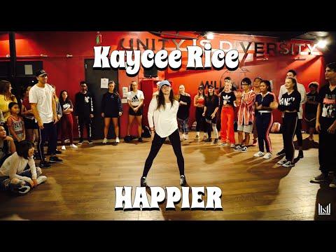 Kaycee Rice - HAPPIER - MARSHMALLOW | Matt Steffanina & Bailey Sok Choreography
