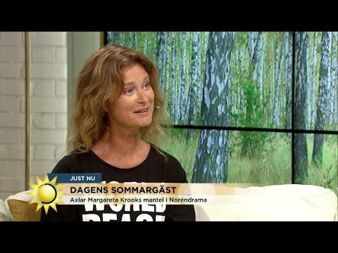 Dagens sommargäst är Lena Endre  Nyhetsmorgon TV4