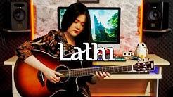 (Weird Genius ft. Sara Fajira) Lathi - Fingerstyle Guitar Cover | Josephine Alexandra