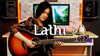 Download (Weird Genius ft. Sara Fajira) Lathi - Fingerstyle Guitar Cover | Josephine Alexandra