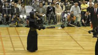 17th All Japan 8-dan Kendo Championships - SF2 - Matsumoto Masashi vs. Kurita Waichiro